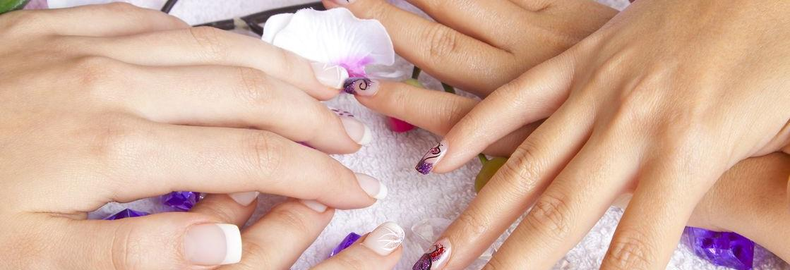 Beautiful French Manicure or Nail Design Manicure banner