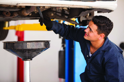 All types of full service oil changes