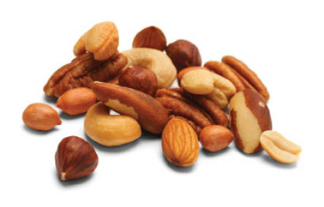 Mixed nuts by the pound at Bulk Nation Food