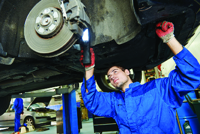 tire installation at Robert's Tire & Auto Service illinois
