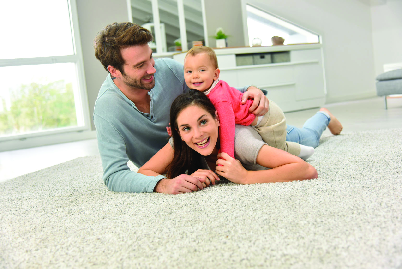 Family-friendly carpet cleaning By Rapid Dry