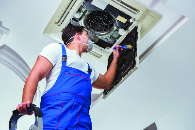 Vent cleaning in ORL