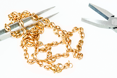 Gold necklace repair services