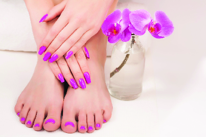 Matching Mani-Pedi by Perfect Nails