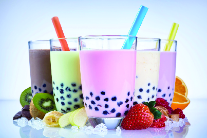 Super fruit, super food smoothies