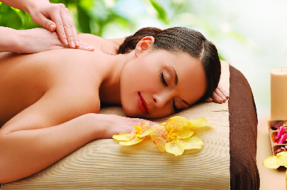 Soothing relaxation massage