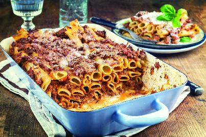 pasta, ziti, baked dishes, italian, dinner