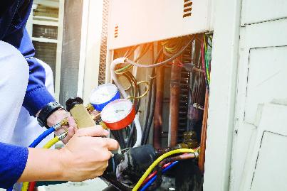 Testing home equipment service