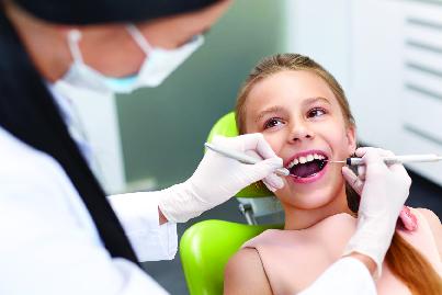 Children's dental check-ups