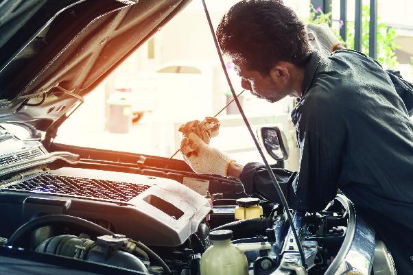 Check Engine Oil