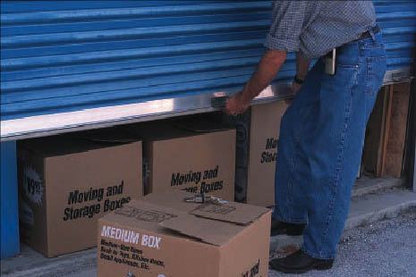 Moving and storage boxes of any size; Branford storage