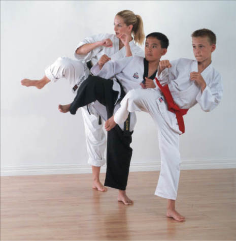 Kids love learning Martial Arts