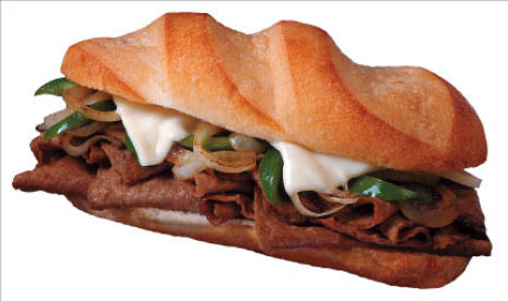 gourmet pizza,sicilian pizza,appetizers,baked dishes,philly cheese steak