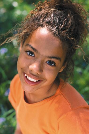 photo of smiling girl patient of Shiva Hogugi, DDS, PLLC in West Bloomfield Twp, MI