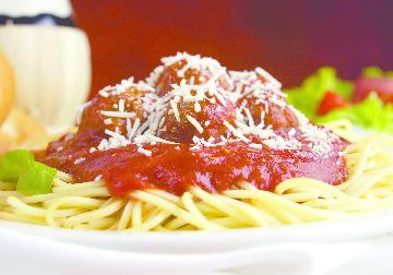 traditional spaghetti & meatballs
