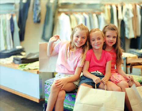 Kid's waiting for 2020 Spring Upscale Resale
