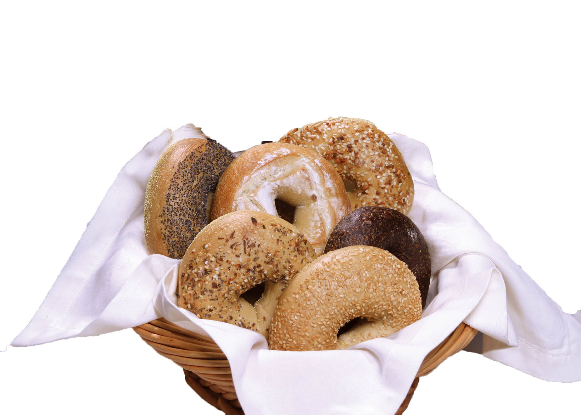 Fresh homemade bagels and pastries near Port Jefferson Station.