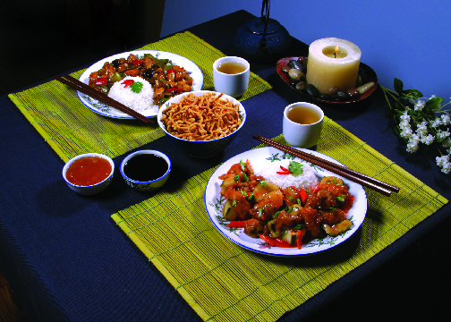 Enjoy Chinese food at Royal Buffet.