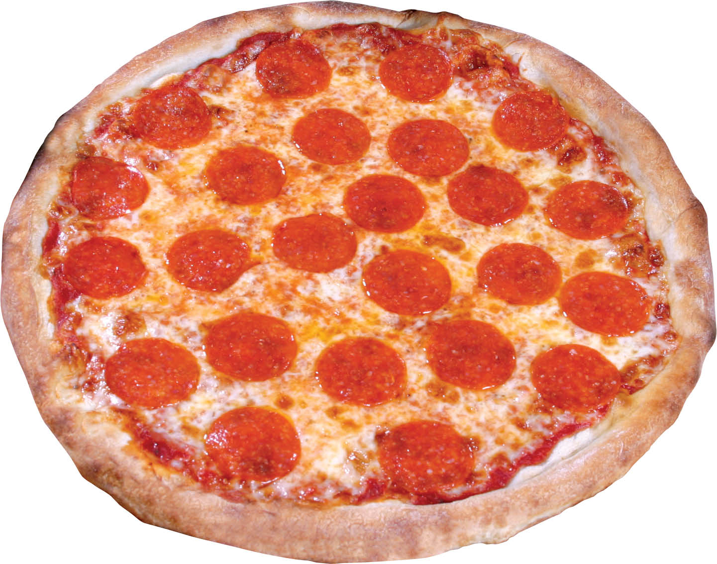 photo of pepperoni pizza from Mancino's Pizza & Grinders in Brighton, MI