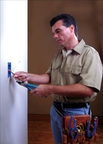 Electric socket and switch installation and repair