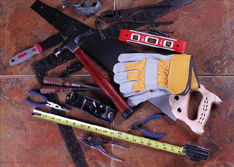handyman, trash removal, roof repairs