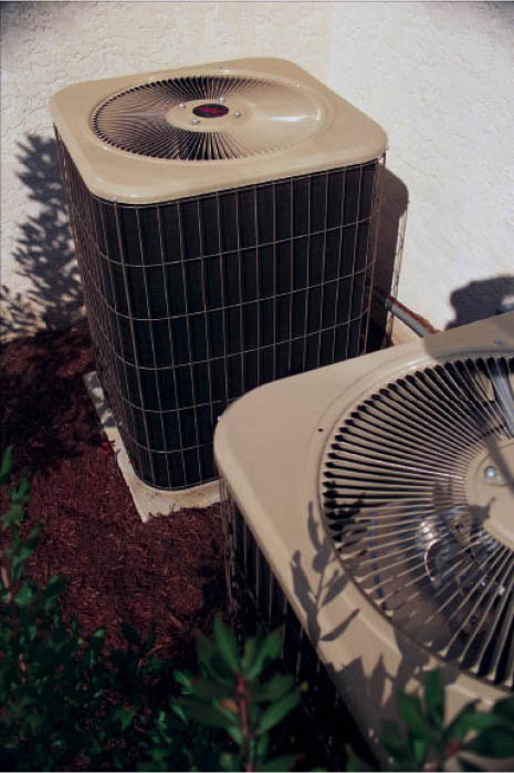 conditioner , air conditioning heating