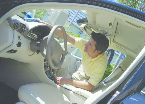 Pacific Beach Car Wash cleans interior rugs and floor mats; auto upholstery cleaning Encinitas