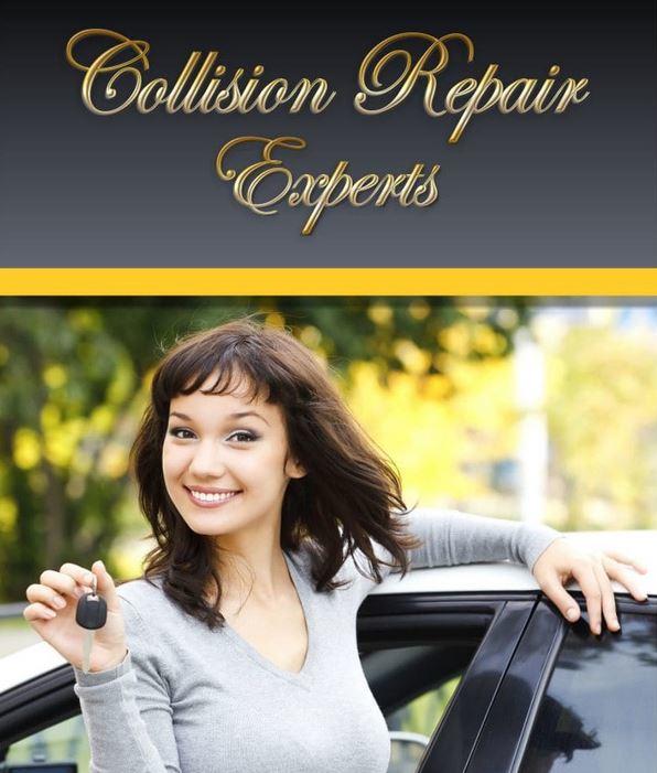collision repair experts ad