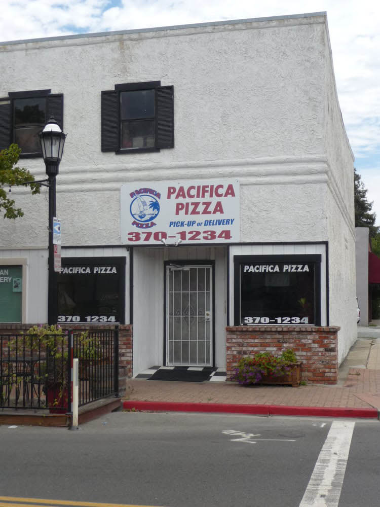 Pizza coupons for Pacifica Pizza on Main Street in Martinez, CA
