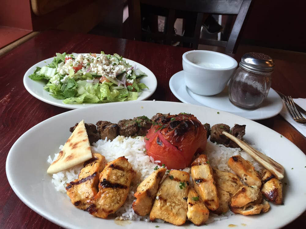 Delicious Greek food - mouthwatering Mediterranean food - Padria Mediterranean Cafe - Kirkland WA - Greek restaurant - Mediterranean restaurant