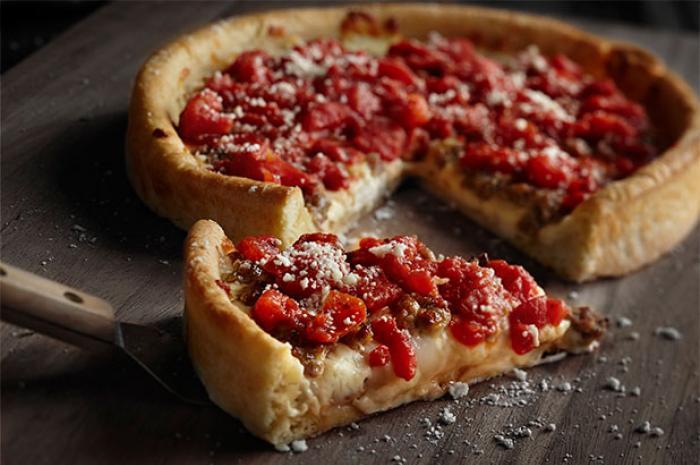 Chicago Style, Pizza, Pasta, Dessert, Calzones, Sandwiches, Wraps, Subs, Paninis, Stromboli