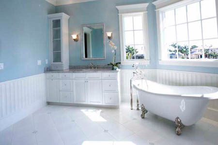 Color World House Painting interior bathroom paint