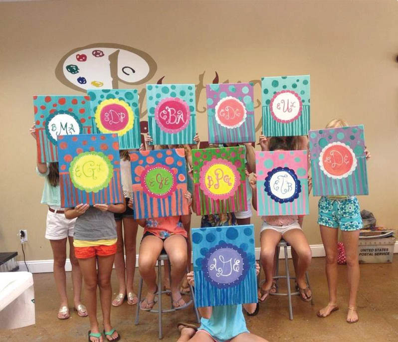 paint with friends,painting,paint night in newark de,middletown paint,