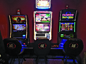 Enjoy our gaming machines