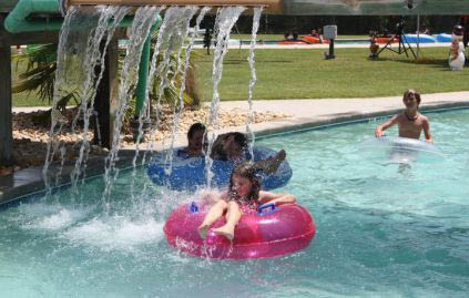 Hours of summer fun dipping, diving, riding and sliding
