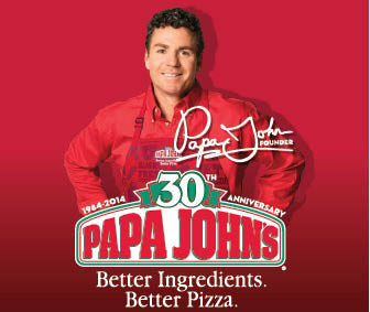 papa john, carry out, delivery, wings, pizza; fredericksburg, va