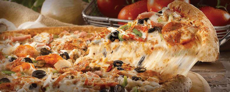 papa john's, pizza, specialty; chicken wings, breadsticks