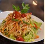 Kiin Imm Thai Restaurant, Papaya Salad, Vienna, VA