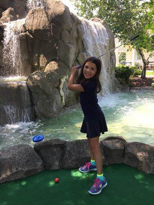 par fore mini golf