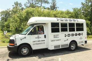 Airport shuttle for Orlando International Airport