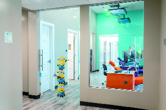 inside parkland pediatric dental
