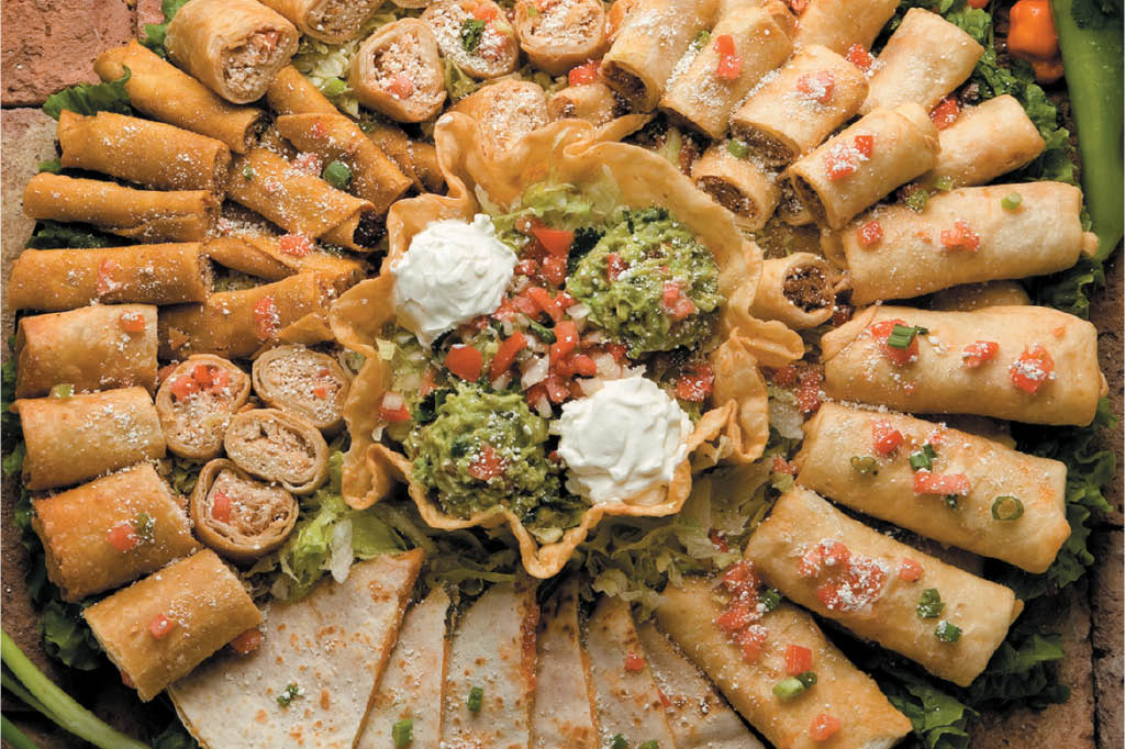 Order a Fiesta Party Platter from El Tapatio for your party or celebration - Mexican restaurants in Everett, WA - Mexican restaurants in Snohomish, WA - Everett Mexican food - Snohomish Mexican food