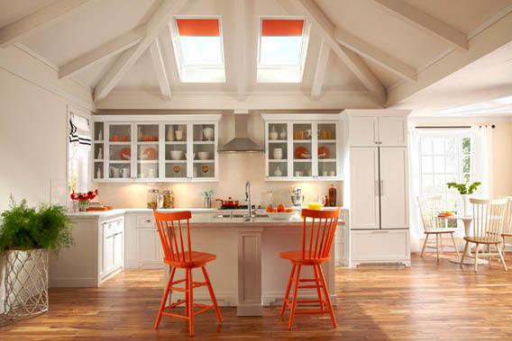Kitchen Skylights -  Patriot Roofing, Tacoma WA