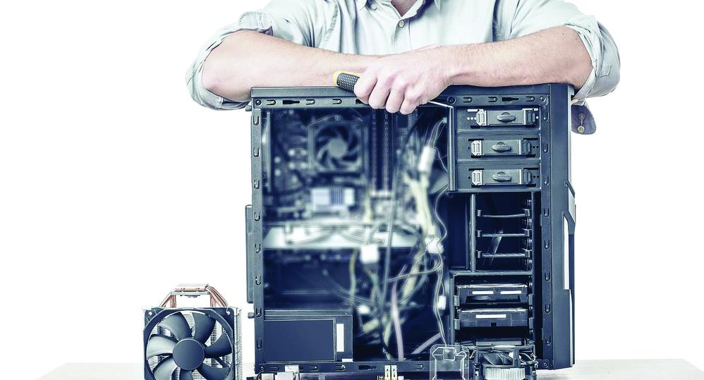 computer system repair - virus removal