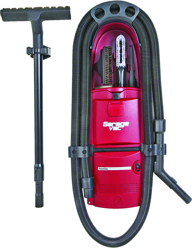 Wall-mounted garage vacuum cleaner from Pearl City Vacuum Cleaners in Aiea, HI