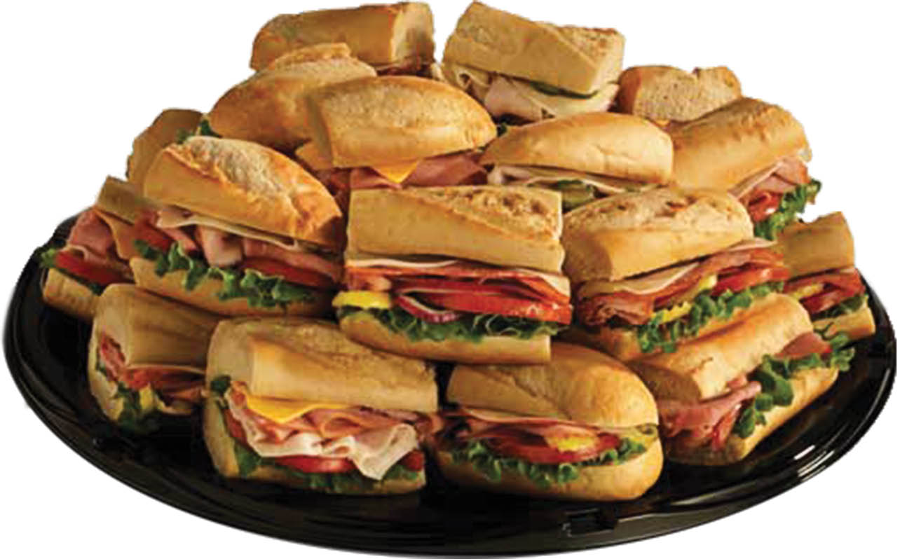 photo of catering tray from Penn Station East Coast Subs in Lansing, MI