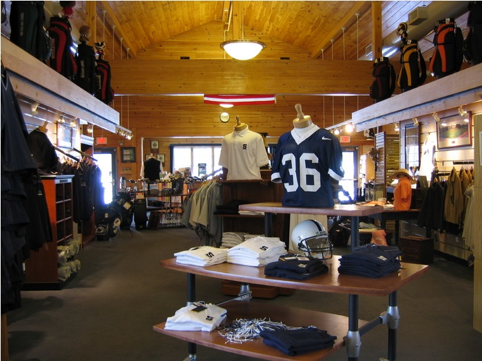 Pro shop at golf course in State College