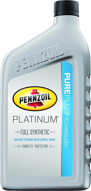 Pennzoil Platinum Oil Bottle - Jiffy Lube