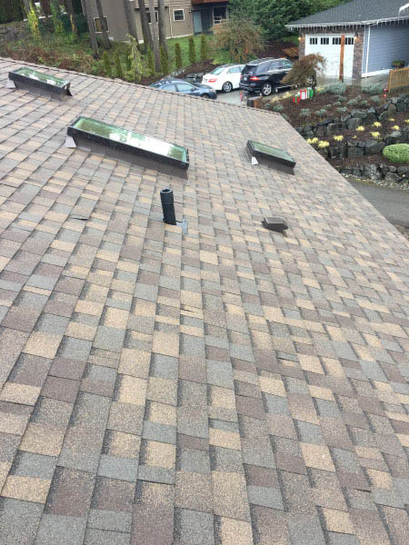 Skylights and roofing installed by Performance Roofing - Des Moines - quality roofing - professional roofers