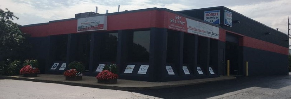 Performance Auto Center in Elk Grove Village IL banner